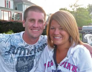 Christa and Jamie Caulk