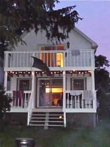 The cottage at devils lake