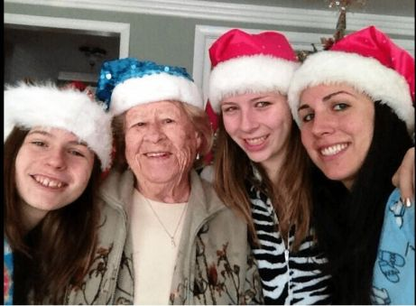 Justina Pellitier and her sisters and grandmother