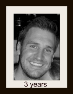 Jamie 3 years today