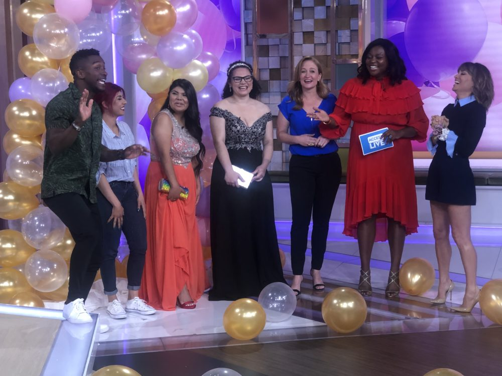 prom makeover access live melissa chataigne