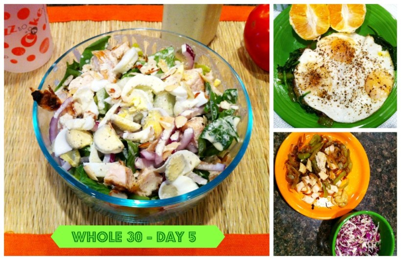 Whole30 Day 5 – Over the initial hump