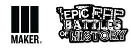 Maker Studio and Epic Rap Battles of History Logos