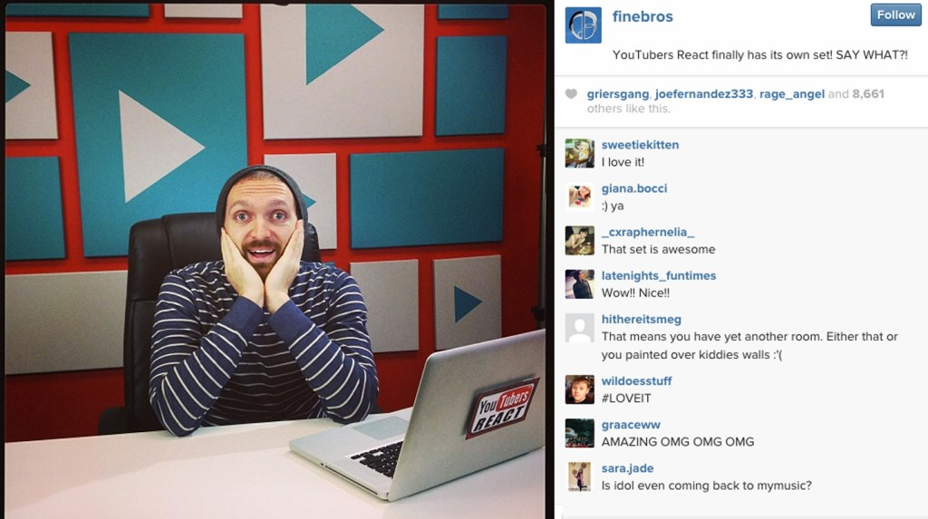 the-fine-brothers-melissa-judson-production-design-youtubers-react-instagram