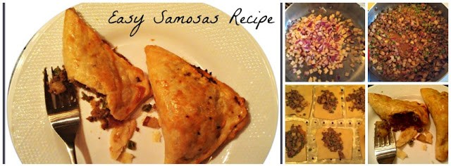 Recipe how to make Samosas