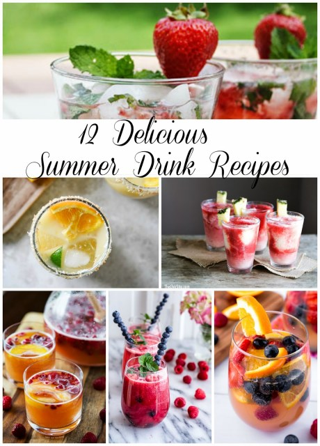 12 Delicious Summer Drinks #FoodieByGlam