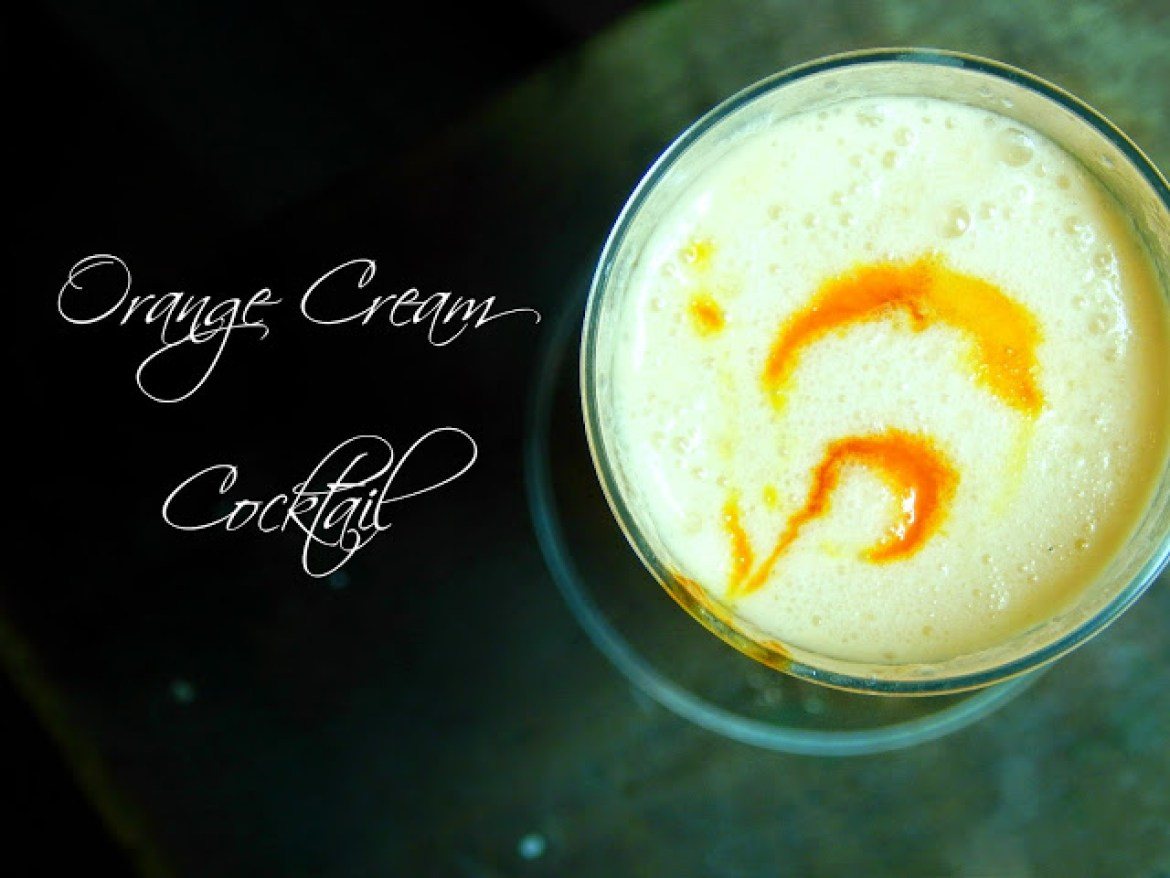 Orange Cream Cocktail with #DrinkTEN products. #Shop