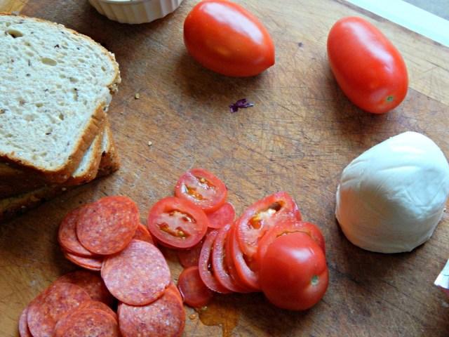 Pepperoni Pesto Panini #pepitup #ad #cbias