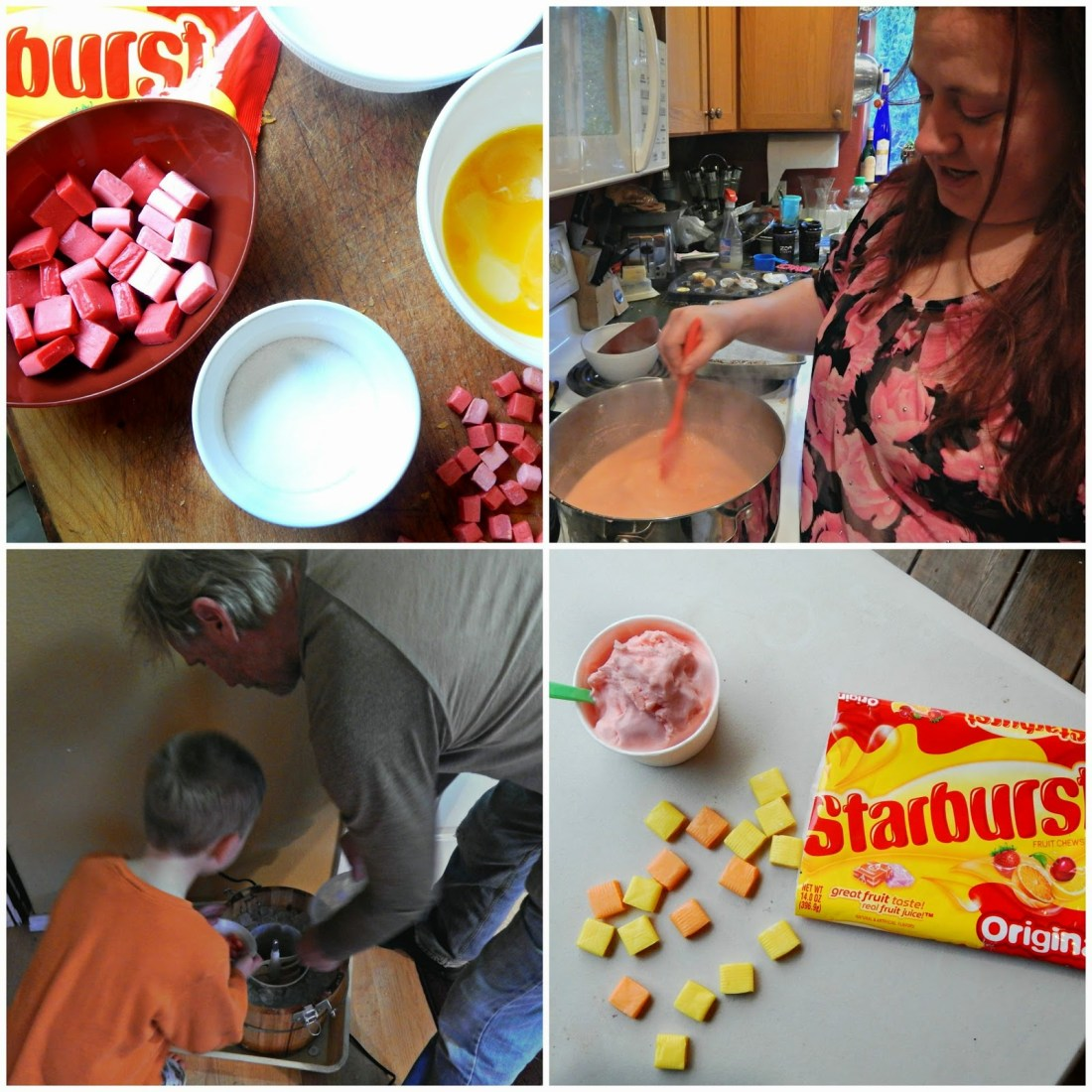 #BigGameTreats #ad #cbias Starburst Ice cream