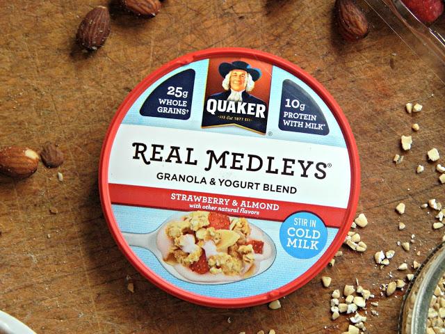 Raspberry Nut Buckwheat Muffin Recipe #QuakerRealMedleys #Cbias #ad
