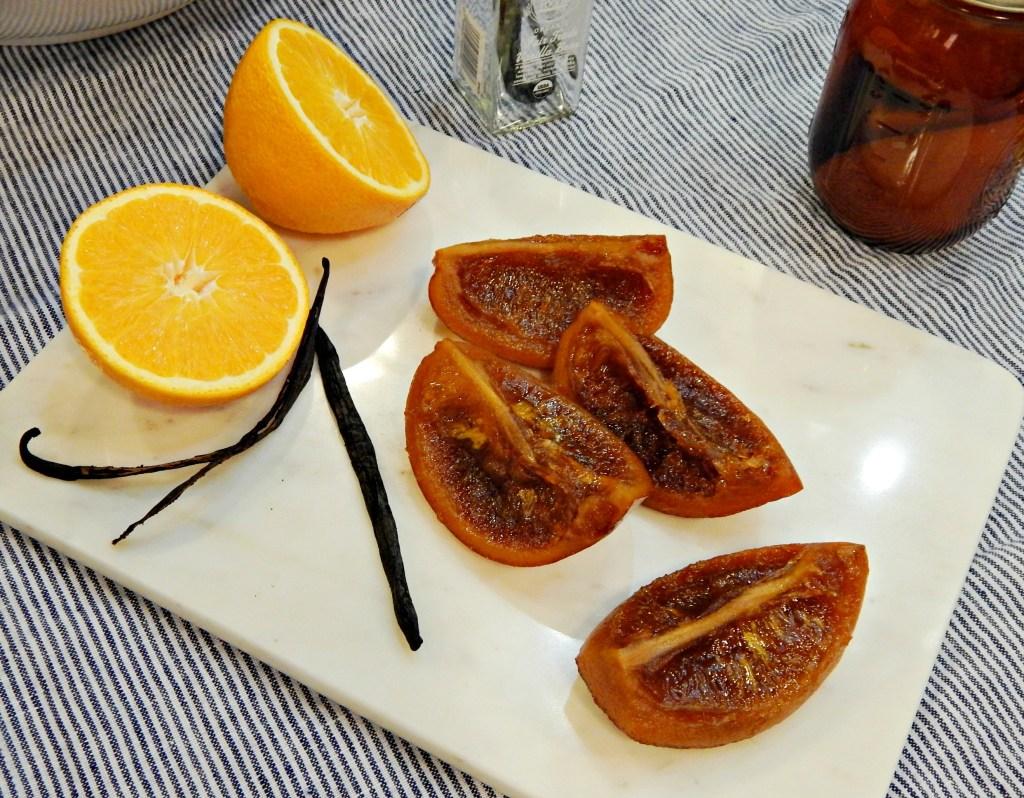 confit orange