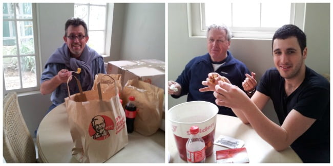 kfc-lunch by Melissa Louise