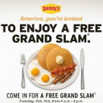 Dennys Breakfasts: Grand Slam breakfast