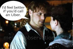 #Outlander Wacky Re-Cap, Ep 405: Domesticity, Danger and the Return of the God-Daddy!