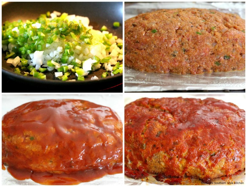 step-by-step pictures of how to make delicious meatloaf
