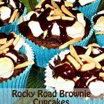 Rocky Road Brownie Cupcakes
