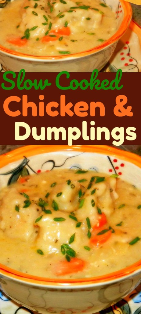 Slow Cooked Chicken And Dumplings