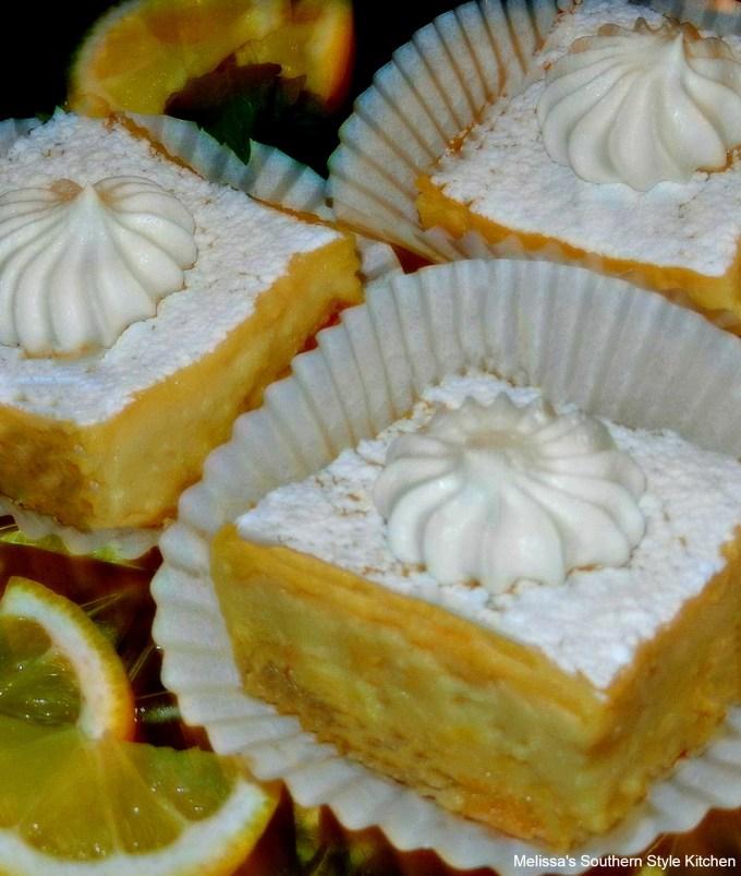 Lemon Custard Pie Bars