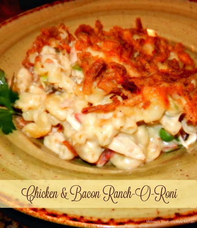 Chicken And Bacon Ranch-O-Roni