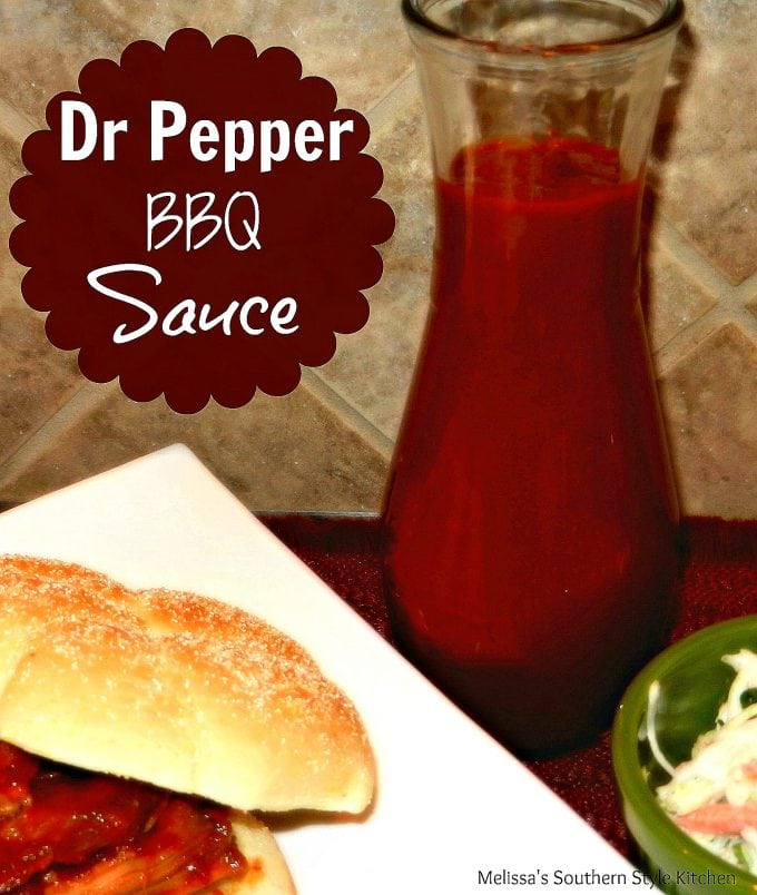 Dr Pepper Barbecue Sauce