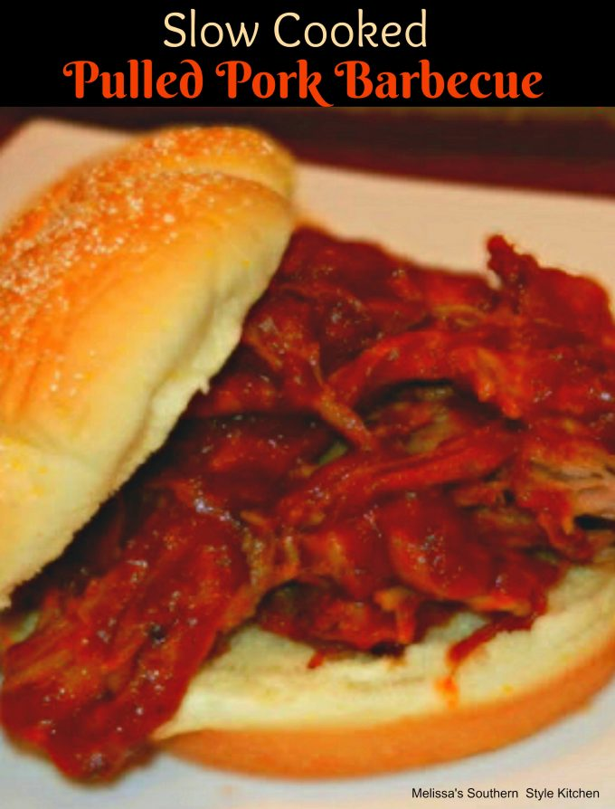 Slow Cooked Pulled Pork Barbecue