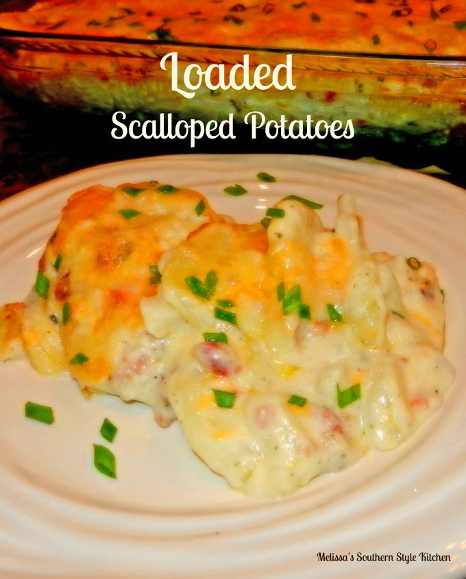 Loaded Scalloped Potatoes