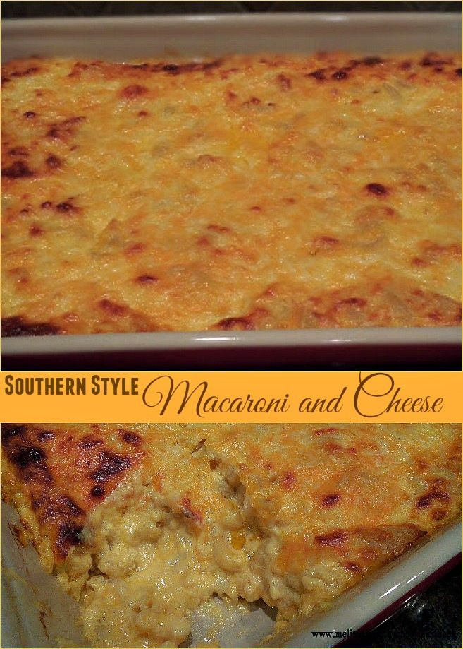 CollageSouthernStyleMacaroniAndCheese