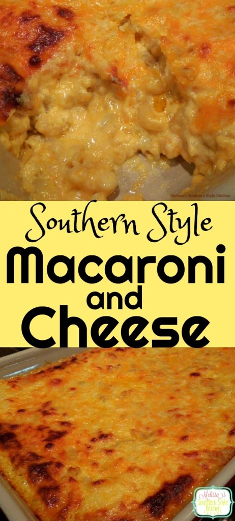 Southern Style Macaroni And Cheese