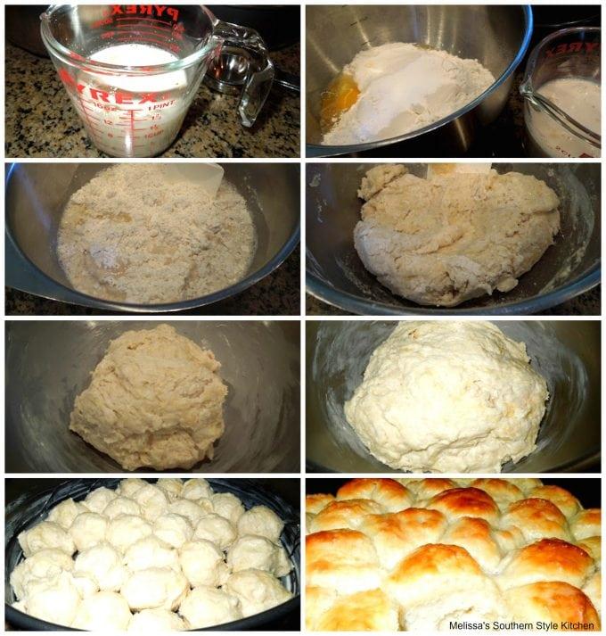 Easy No Knead Yeast Rolls