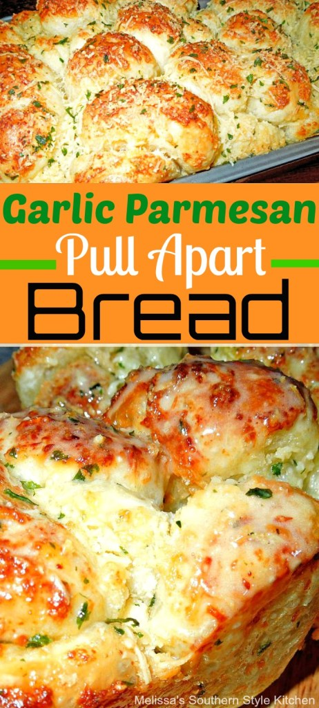 Garlic Parmesan Cheese Pull Apart Bread