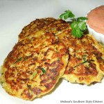 Creole Squash Cakes with Spicy Aioli