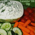 Fresh Cucumber Dill Dip
