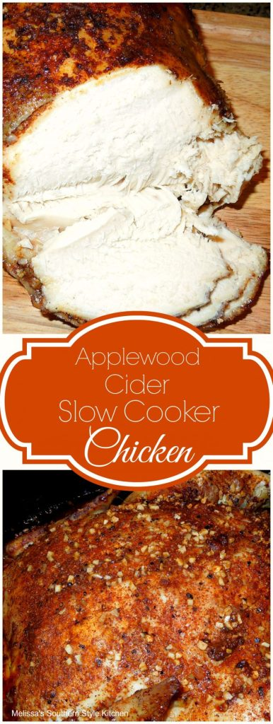 Applewood Cider Slow Cooker Chicken