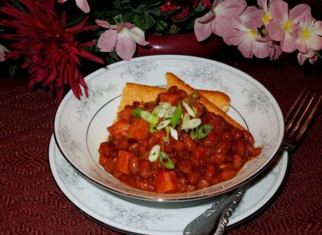 Creole Bourbon Beans And Ham