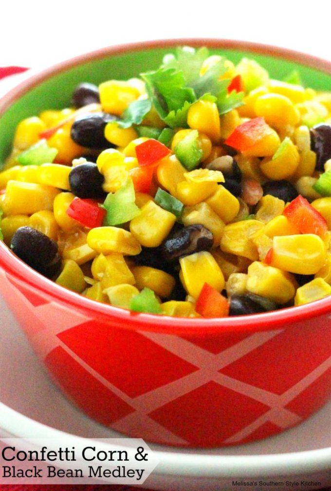Confetti Corn And Black Bean Medley