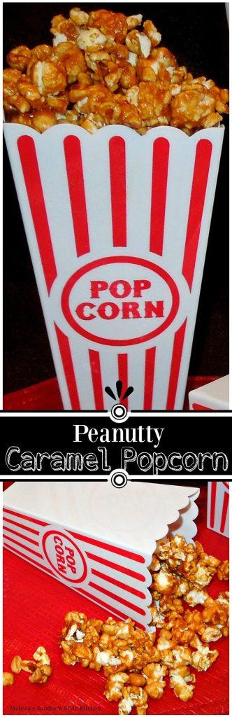 Peanutty Caramel Poipcorn