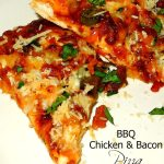 Barbecue Chicken And Bacon Pizza