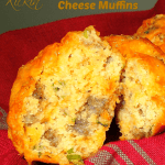 Kickin' Sausage And Cheddar Cheese Muffins