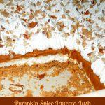Pumpkin Spice Layered Lush Dessert