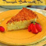 Pineapple Buttermilk Pie