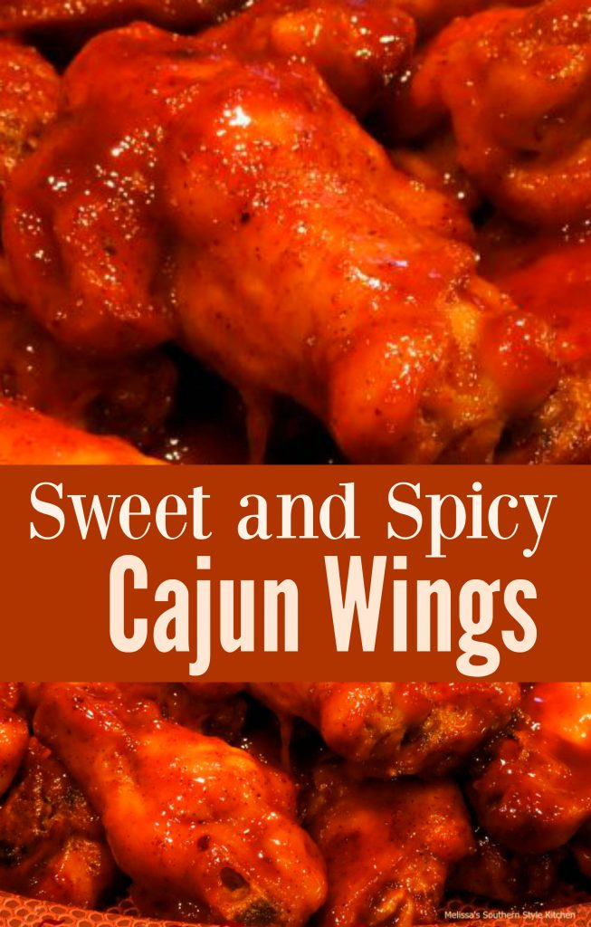 Sweet and Spicy Cajun Wings