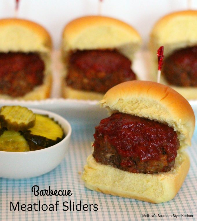 Barbecue Meatloaf Sliders