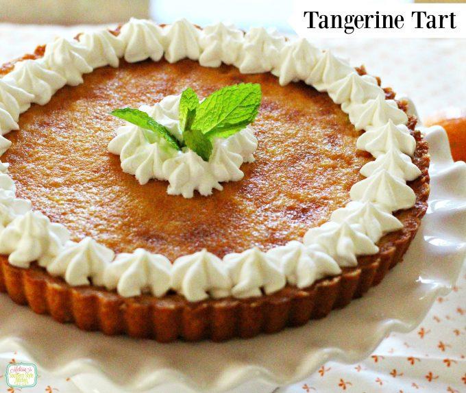 Tangy Tangerine Tart