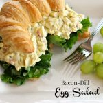 Bacon-Dill Egg Salad with Pimentos