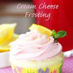Pink Lemonade Cream Cheese Frosting