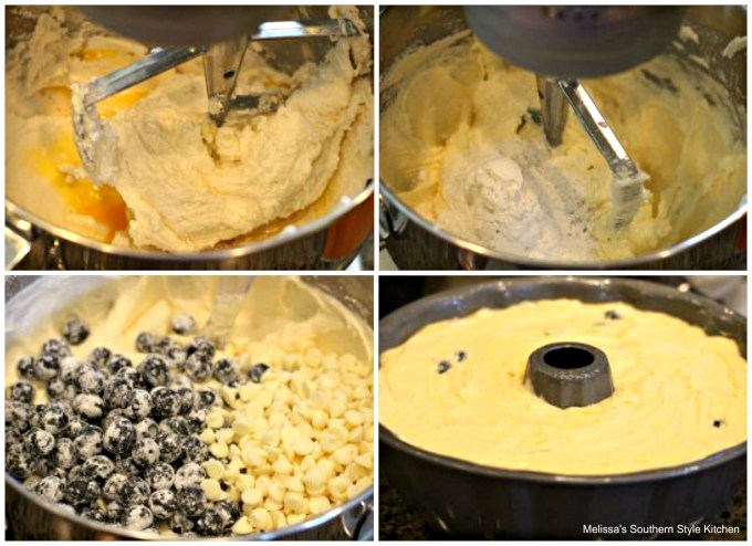 step-by-step images how to prepare pound cake
