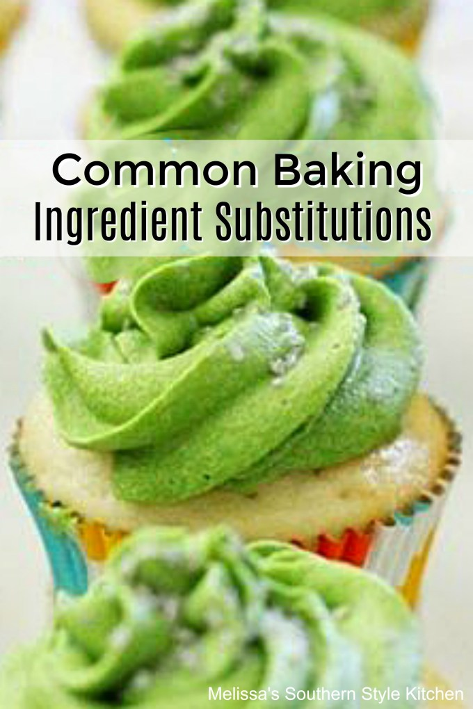 Baking Ingredient Substitutions
