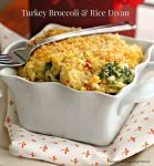 Turkey Broccoli Rice Divan