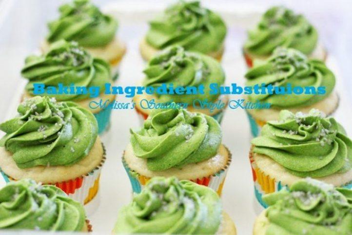Baking Ingredient Substitutions