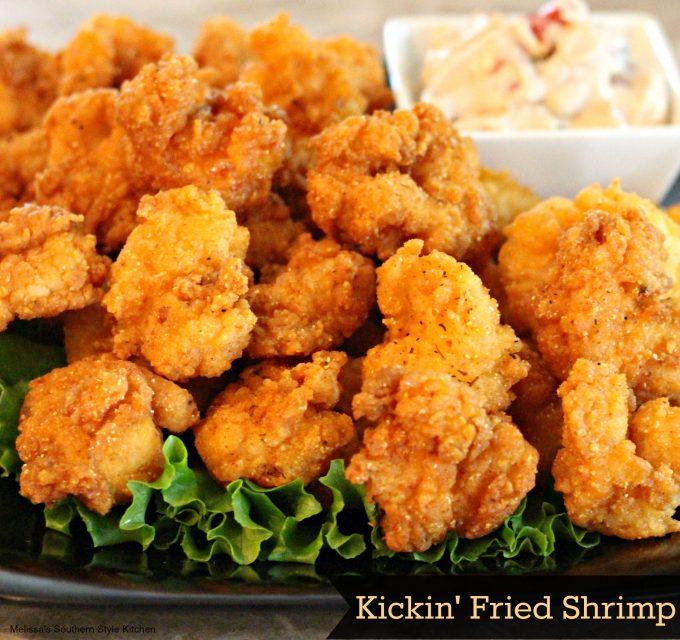 Kickin' Fried Shrimp